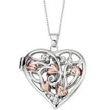 Clogau Fairy Heart Locket Necklace 3STFLP1