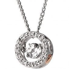 Clogau National Treasure Swarovski Pendant Necklace 3SWDDP1