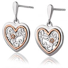 Clogau Tree Of Life One Diamond Earrings 3SONE
