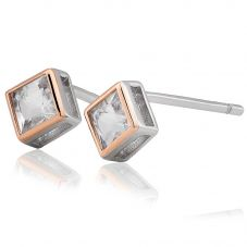 Clogau Welsh Royalty Topaz Stud Earrings 3SQAE2