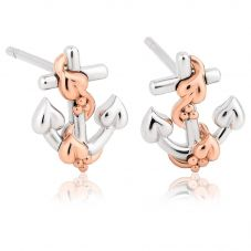 Clogau Hope House Anchor Stud Earrings 3SACTLE