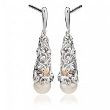 Clogau Tree of Life Pearl Drop Earrings 3STOLPE4