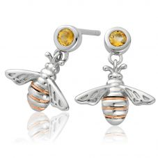 Clogau Honey Bee Dropper Earrings 3SHNBDE