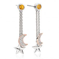 Clogau Out Of This World Dropper Earrings 3SOTWE