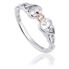 Clogau Lovespoons Ring 3SLSR3