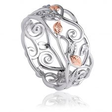 Clogau Awelon Band Ring 3SAWR