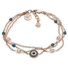 Emporio Armani Rose Evil Eye Three Row Bracelet EGS2531221