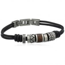 Fossil Men's Vintage Casual Bead Bracelet JF84196040
