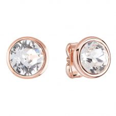 Guess Miami Rose Gold Plated Stud Earrings UBE83060