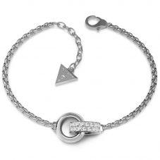 Guess Embrace Crystal Link Bracelet UBB78088-L