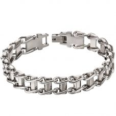 Fred Bennett Stainless Steel Bike Chain Bracelet B5116