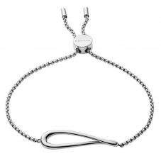 Skagen Kariana Stainless Steel Swirl Toggle Bracelet SKJ1110040