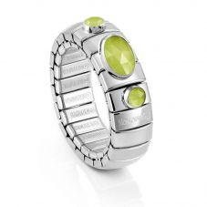 Nomination Extension 3 Light Green Jade Ring 043320/006