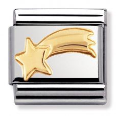 Nomination CLASSIC Gold Daily Life Shooting Star Charm 030110/20