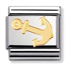 Nomination CLASSIC Gold Sports Collection Anchor Charm 030106/15