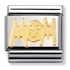 Nomination CLASSIC Gold Writings Mom Charm 030107/01