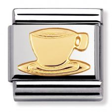 Nomination CLASSIC Gold Daily Life Coffee Cup Charm 030109/05