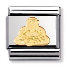 Nomination CLASSIC Gold Spirituality Buddha Charm 030105/06