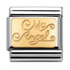 Nomination CLASSIC Gold Love My Angel Charm 030121/23