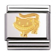Nomination CLASSIC Gold Fantasia Cheshire Cat Charm 030149/21