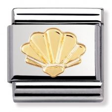 Nomination CLASSIC Gold Shell Charm 030111/05