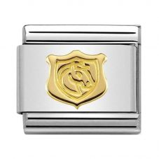 Nomination CLASSIC Gold Symbols Shield With Horse Charm 030149/28
