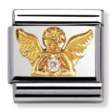 Nomination CLASSIC Gold Daily Life Angel Charm 030307/23K