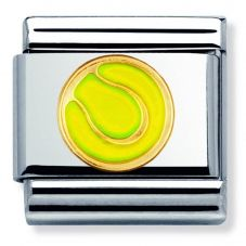 Nomination CLASSIC Gold Sports Green Tennis Ball Charm 030203/43