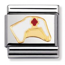 Nomination CLASSIC Gold Daily Life Nurses Hat Charm 030208/25