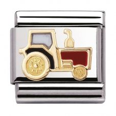 Nomination CLASSIC Gold Tech Tractor Charm 030210/22