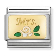 Nomination CLASSIC Gold Mrs Rose Charm 030284/24