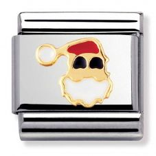 Nomination CLASSIC Gold Santa Face Charm 030225/09