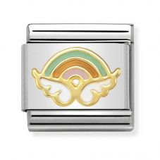 Nomination CLASSIC Gold Symbols Angel Of Wishes Charm 030272/38