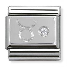 Nomination CLASSIC Silvershine Zodiac Taurus Charm 330302/02