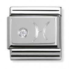 Nomination CLASSIC Silvershine Zodiac Pisces Charm 330302/12