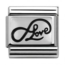 Nomination CLASSIC Silvershine Valentine Infinity Love Charm 330102/07