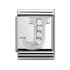 Nomination BIG Silvershine Alphabet J Charm 332301/10