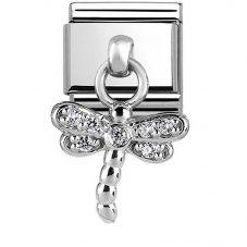 Nomination CLASSIC Silvershine Dragonfly Charm 331800/13