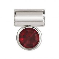 Nomination Seimia Round Red Cubic Zirconia Charm 147114/005