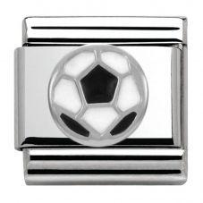 Nomination CLASSIC Silvershine Symbols Soccer Ball Charm 330202/13