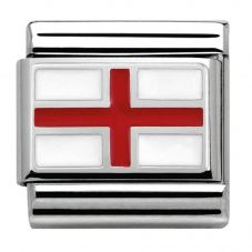 Nomination CLASSIC Silvershine Flags England Charm 330207/03