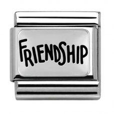 Nomination CLASSIC Silvershine Friendship Charm 330102/40