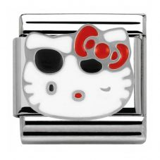 Nomination Hello Kitty Red Bow and Sunglasses Charm 230290/06