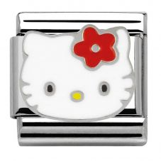 Nomination Hello Kitty Red Flower Charm 230290/09