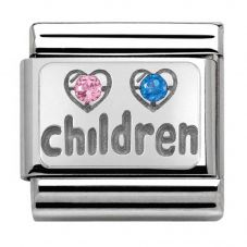 Nomination CLASSIC Silvershine My Family Children Charm 330304/15