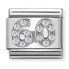 Nomination CLASSIC Silvershine 60 Charm 330304/24