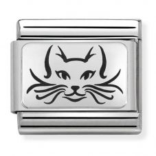Nomination CLASSIC Silvershine Cat Charm 330109/05