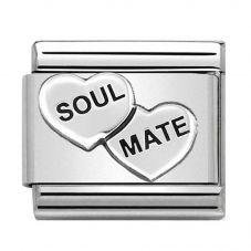 Nomination CLASSIC Silvershine Soul Mates Charm 330101/38