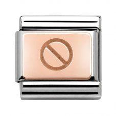 Nomination CLASSIC Rose Gold Screw Charm 430102/02