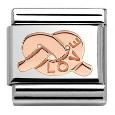 Nomination CLASSIC Rose Gold Love Knot Charm 430101/22
